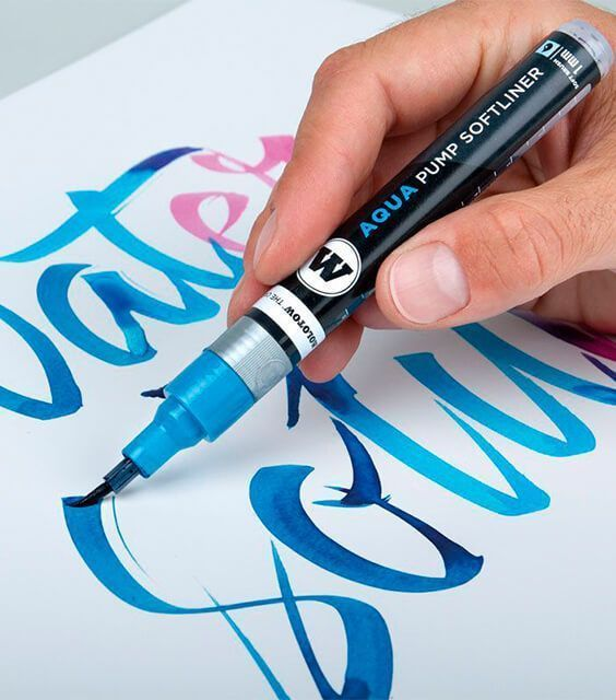 rotuladores acuarelables punta pincel lettering mejores