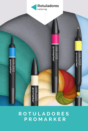 rotuladores promarker lettering winsor and newton